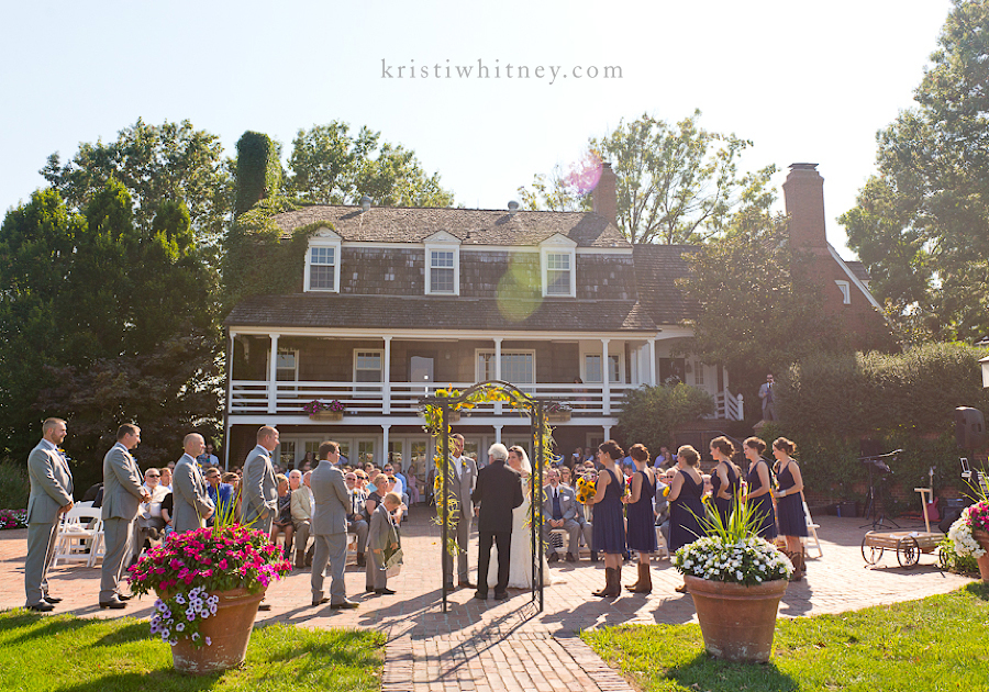 Kansas City Wedding grapher Mildale Farm